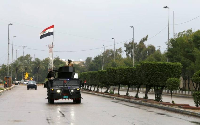 قوات أمن عراقية في بغداد. (رويترز)