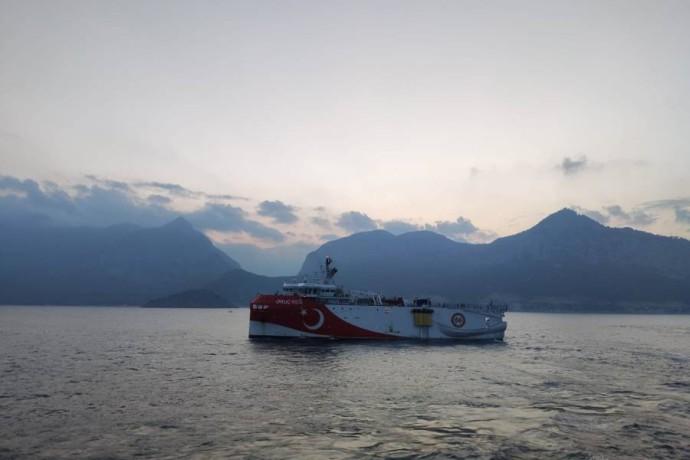 السفينة التركية عروج ريس - رويترز