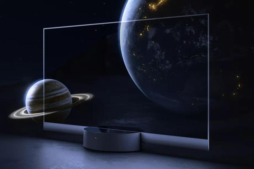 تحمل الشاشة اسم Mi TV LUX OLED Transparent Edition وهي منتج جديد للشركة