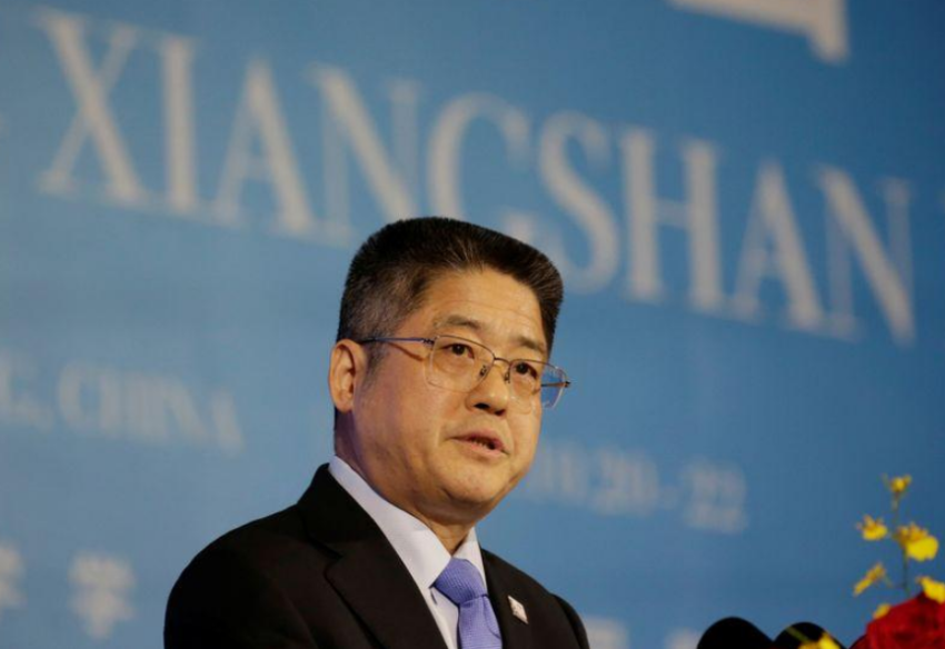 نائب وزير الخارجية الصيني. (رويترز)