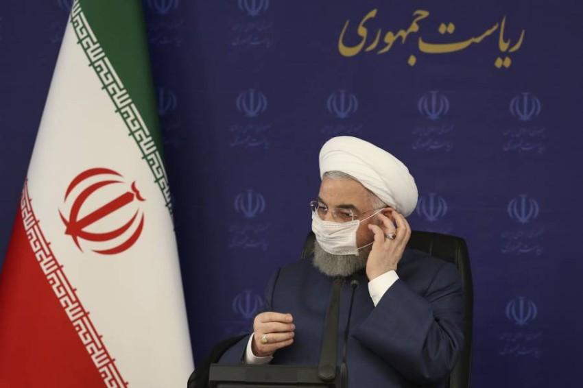 الرئيس الإيراني حسن روحاني. (أ ب)