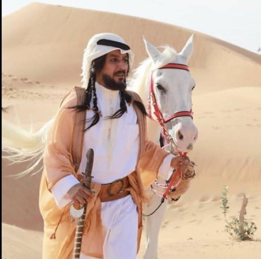 عبدالمحسن النمر في حارس الجبل.
