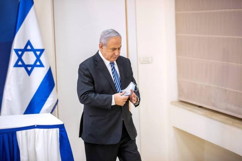 رئيس الوزراء الإسرائيلي بنيامين نتنياهو. (رويترز)