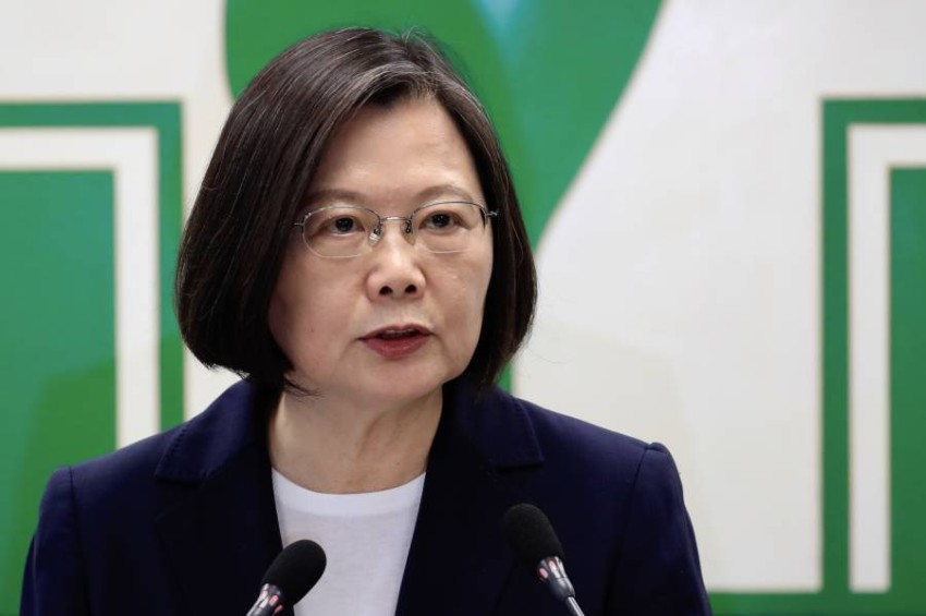 رئيسة تايوان. (إي بي أيه)