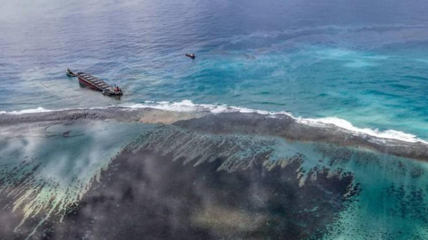 لا ينصح بالسفر لموريشيوس بسبب الكارثة البيئية