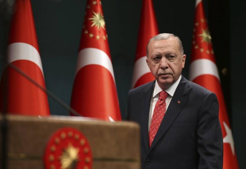 الرئيس التركي. (أ ب)