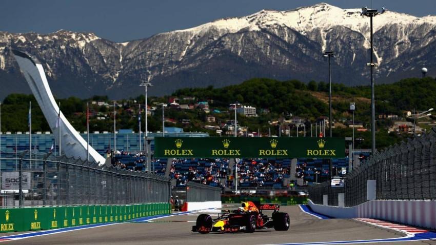 من سباق جائزة روسيا للفورمولا 1. (الرؤية)