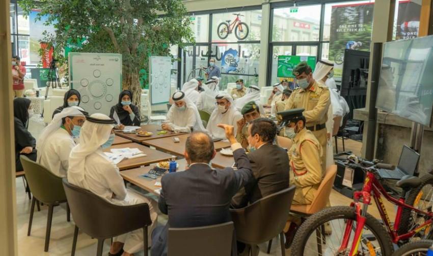 مختبر الابتكار أوصى بتهيئة المناخ العام لجعل دبي صديقة للدرجات الهوائية. (من المصدر)