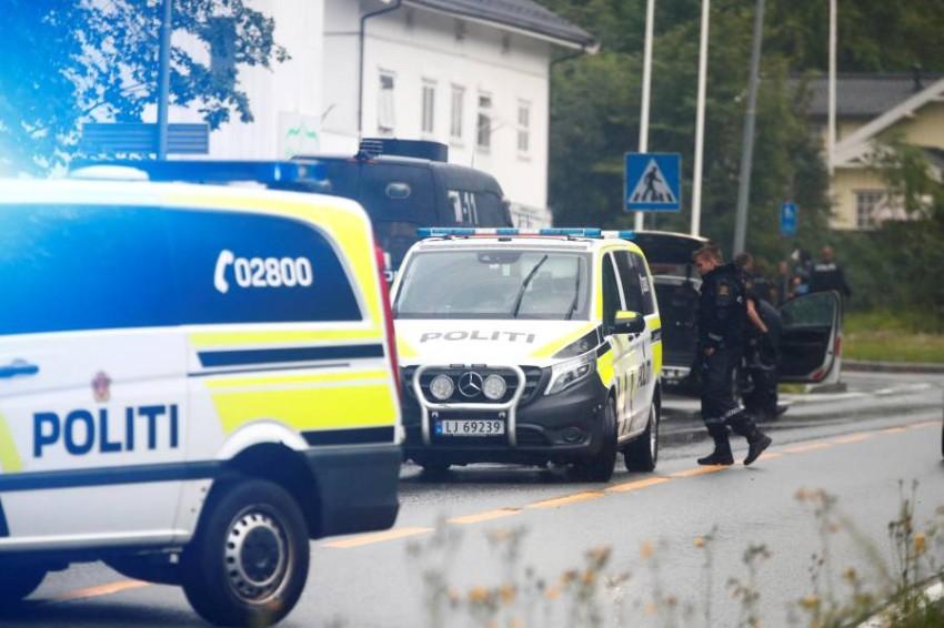 قوات من الشرطة في النرويج. (رويترز)