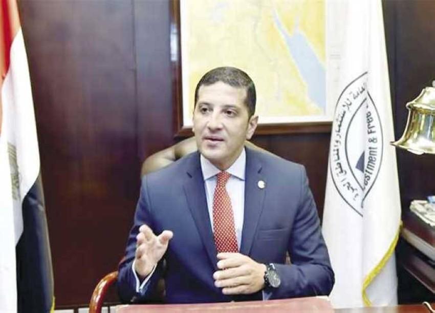 المستشار محمد عبد الوهاب الرئيس التنفيذي للهيئة العامة للاستثمار والمناطق الحرة المصرية.