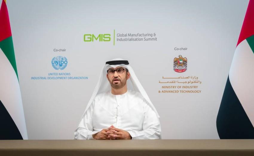 الدكتور سلطان أحمد الجابر، وزير الصناعة والتكنولوجيا المتقدمة.