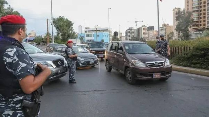 قوات أمن لبنانية. (أ ف ب - أرشيفية)