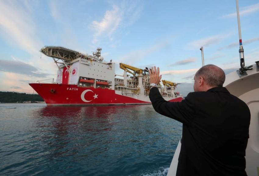 قام أردوغان بالإعلان عن اكتشاف أكبر مستودع للغاز الطبيعي في البحر الأسود - رويترز