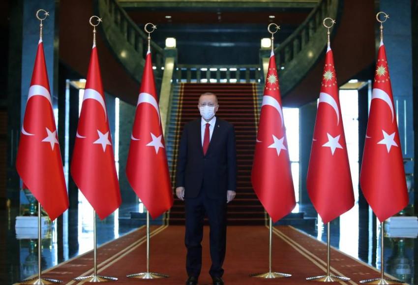 في أعقاب الإعلان عن معاهدة السلام الإماراتية الإسرائيلية، استقبل أردوغان وفداً من حماس في أنقرة - رويترز
