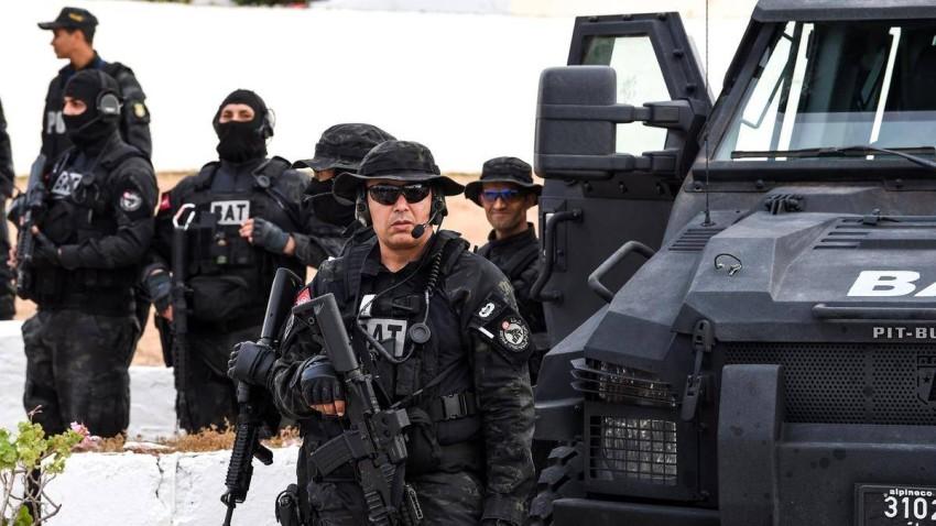 قوات أمن تونسية. (أ ف ب - أرشيفية)