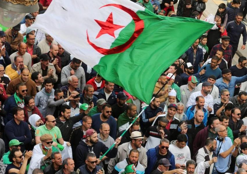الحراك في الجزائر. (رويترز- أرشيفية)