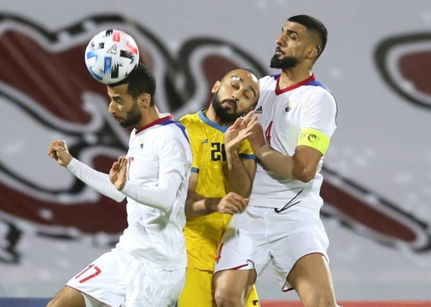 من مباراة الشارقة والتعاون السعودي في دوري أبطال آسيا. (الرؤية)