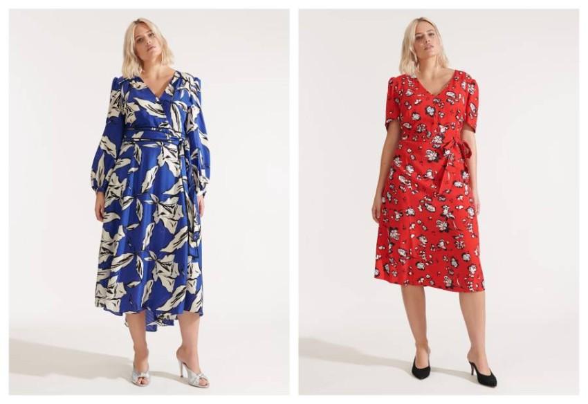 اختاري قصات الفساتين ذات الخصر العالي إذا كان شكل جسمك كمثري