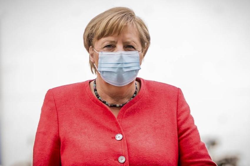 المستشارة الألمانية أنجيلا ميركل. (أ ب)