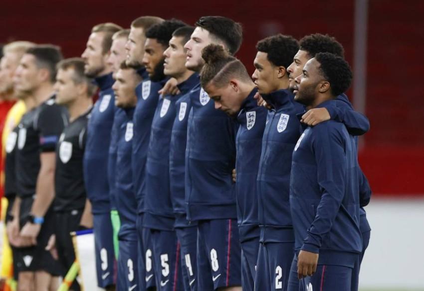 منتخب إنجلترا. (رويترز)