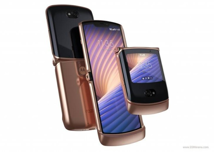 Motorola Razr 5G Gold