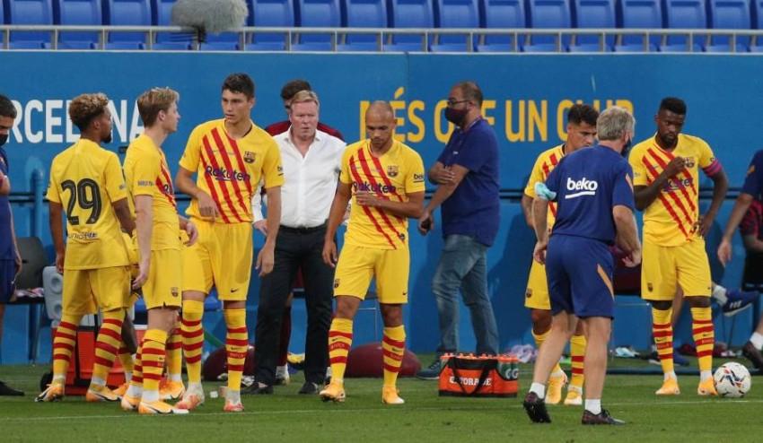 برشلونة يدخل الموسم الجديد بقيادة المدرب كومان. (من المصدر)