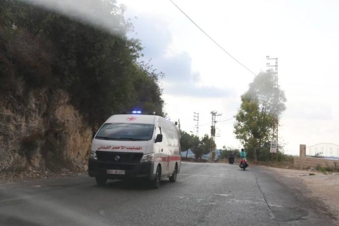 أضرار في عدد من المباني بسبب انفجار بلدة عين قانا جنوب لبنان - أ ف ب