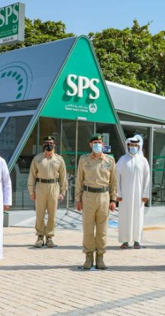 عبد الله المري يفتتح مركز شرطة ذكياً في واحة دبي للسيليكون. (من المصدر)