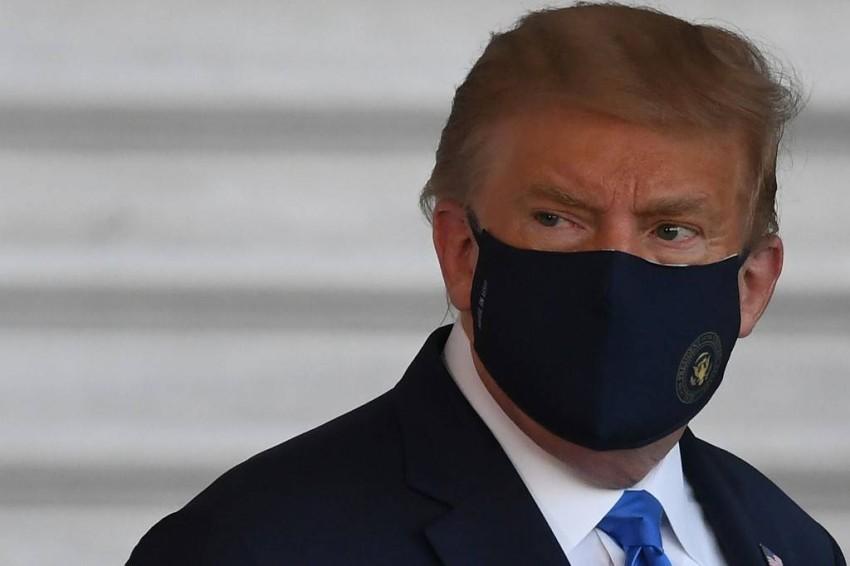 ترامب يعتبر أن الصين هي المسؤولة عن انتشار فيروس كورونا. (أ ف ب)