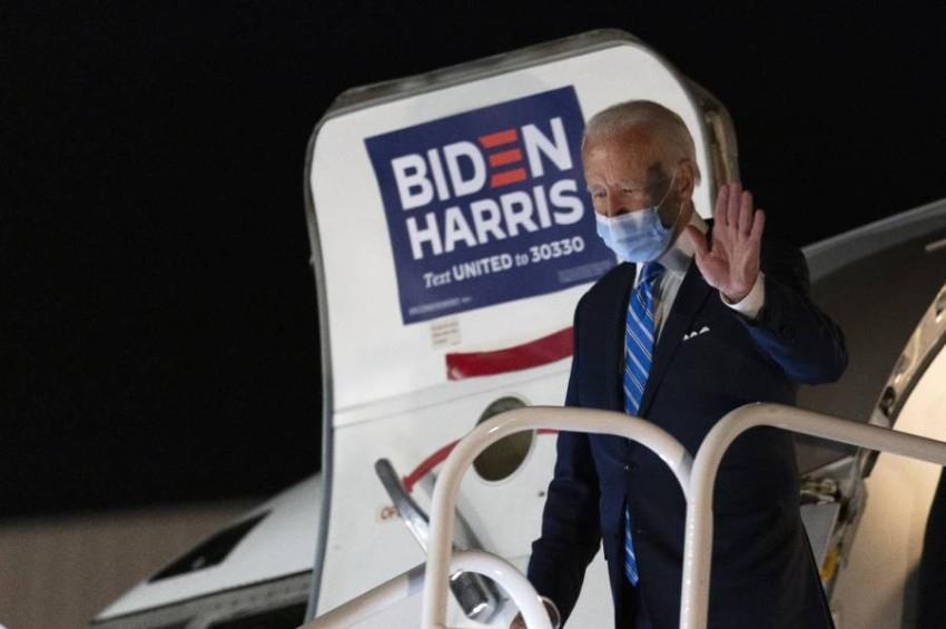 المرشح الديمقراطي جو بايدن. (أ ب)