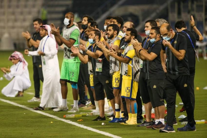 النصر السعودي. (أ ف ب)