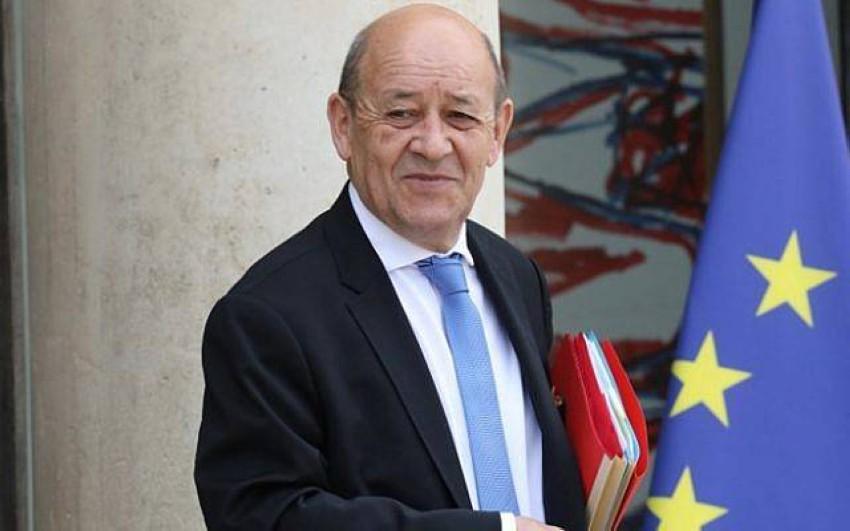 وزير الخارجية الفرنسي. (أ ف ب)