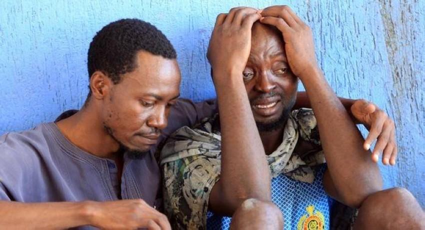 مآسي المهاجرين الأفارقة عبر ليبيا لا تنتهي. (أ ف ب)