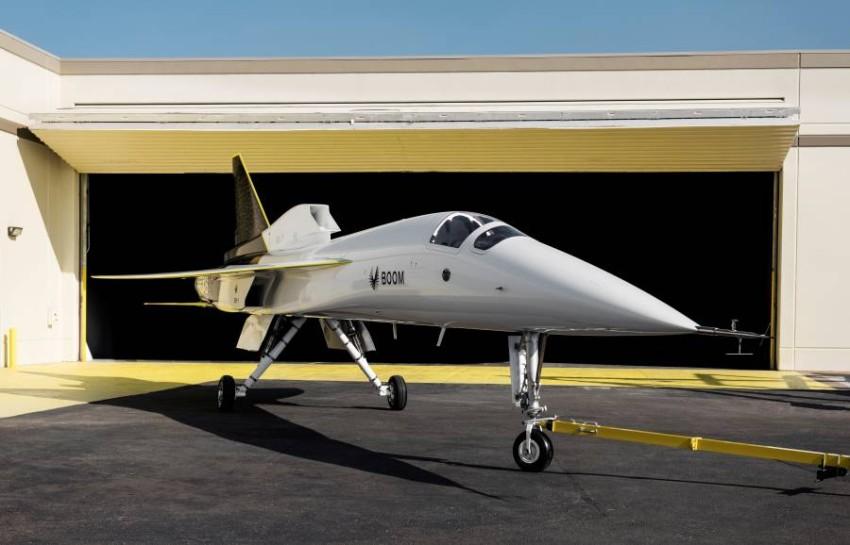 النموذج الأولي لطائرة إكس-بي 1. (رويترز)