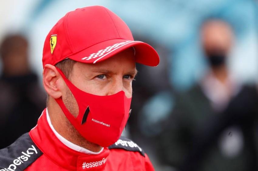 السائق الألماني سيباستيان فيتيل. (رويترز)