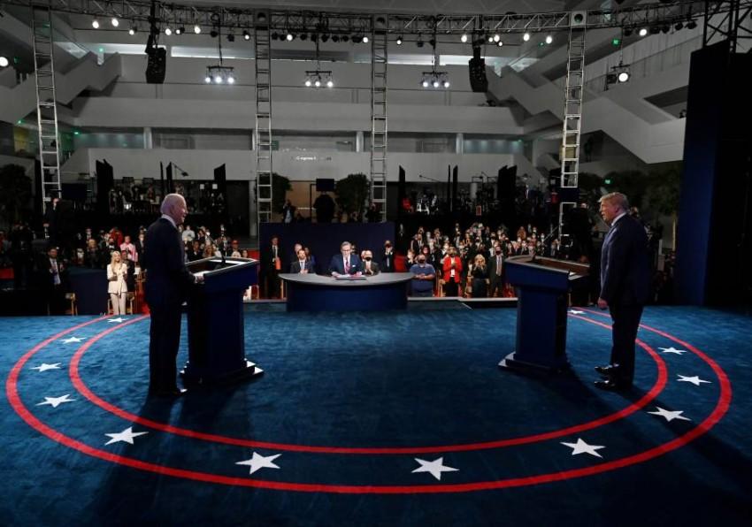 المناظرة الأولى وصفت بانها مخيبة للآمال - رويترز