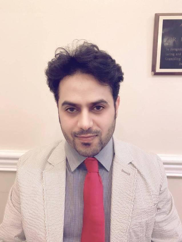 لباحث في العلاقات الدولية الدكتور بندر الدوشي - الرؤية