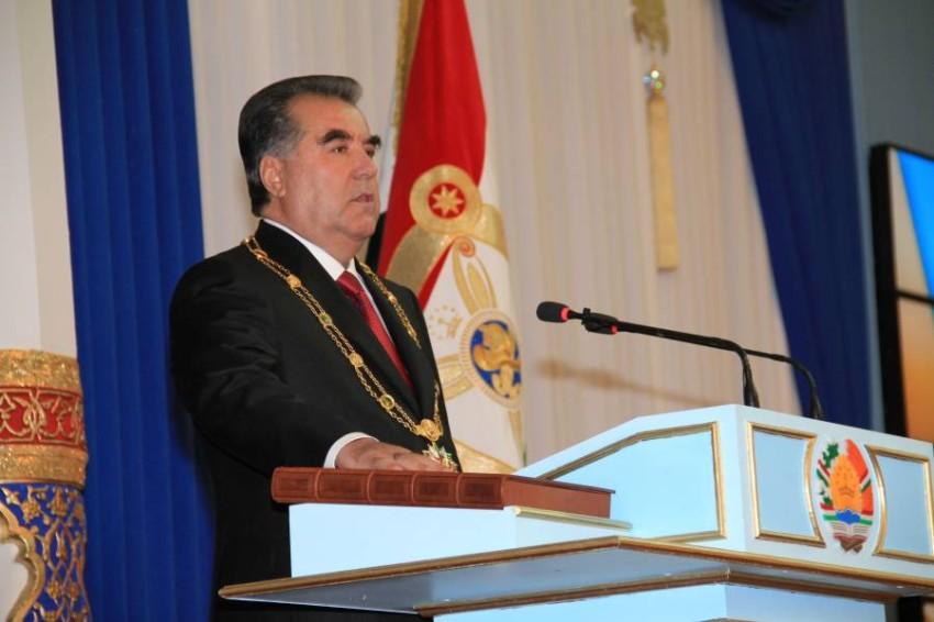 رئيس طاجيكستان. (رويترز)