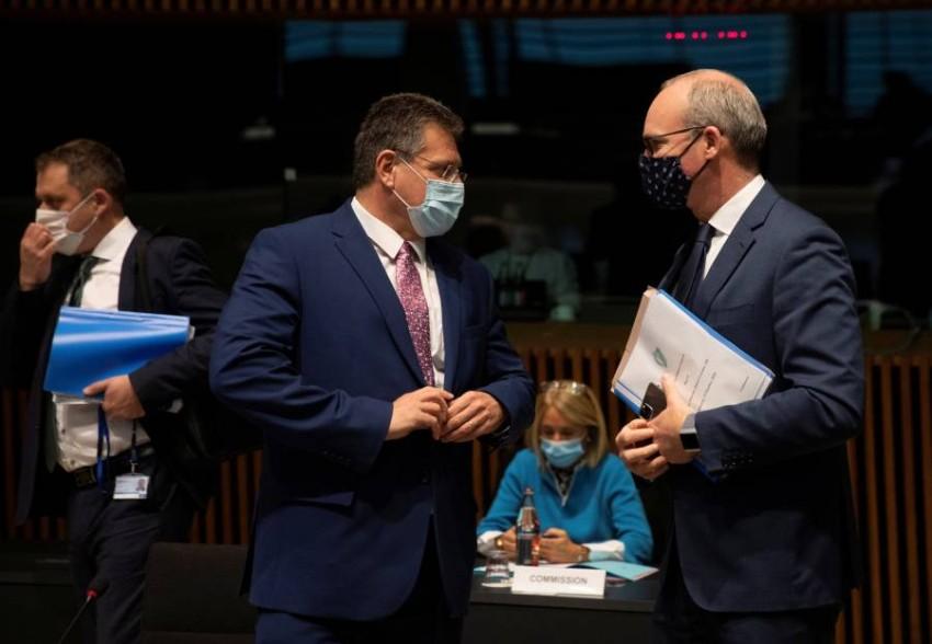 وزراء الشؤون الأوروبية يبحثون البريكست وتنسيق التعامل مع «كوفيد-19» - رويترز