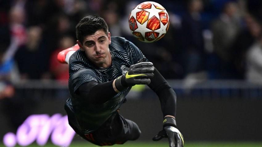 حارس مرمى ريال مدريد تيبو كورتوا. (غيتي)