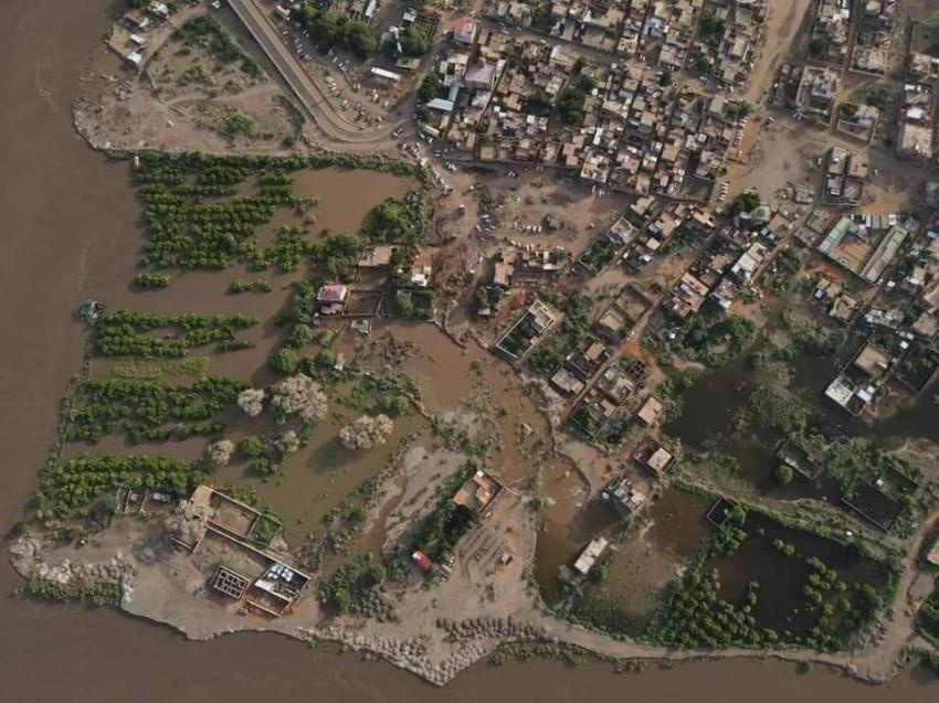 صورة جوية لجزيرة توتي. (من المصدر)