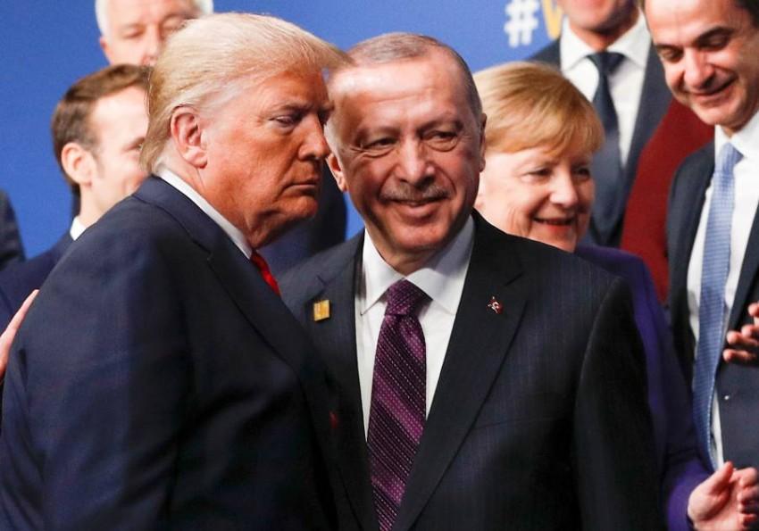 أردوغان وترامب. (رويترز)