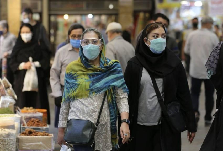 إيران تسجل حصيلة قياسية جديدة من وفيات كورونا - أ ف ب