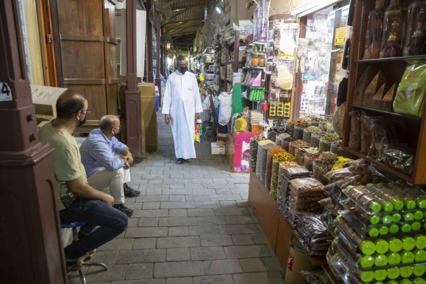 أسواق دبي، تصوير عماد علاءالدين