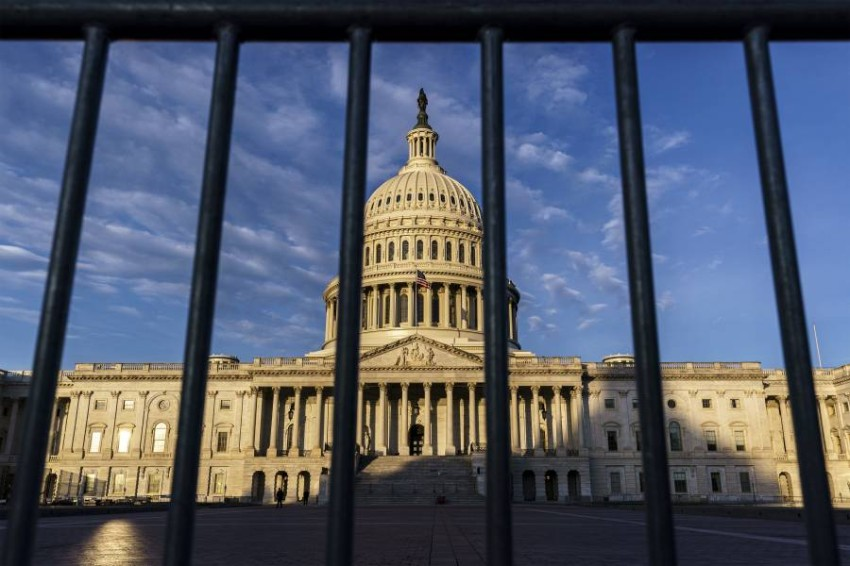 مبنى الكونغرس - أ ب