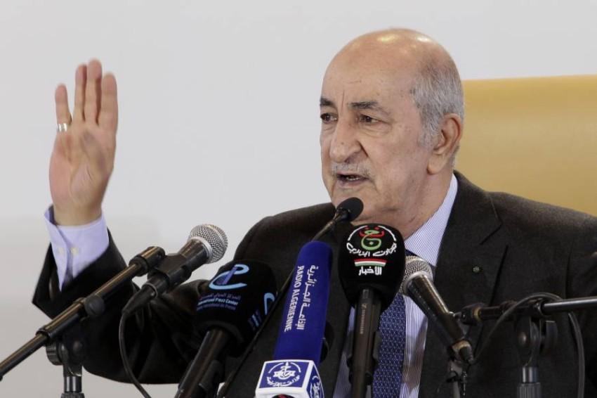 الرئيس الجزائري. (أ ب)
