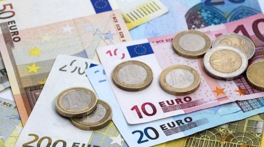 سعر اليورو مقابل سعر صرف العملات.