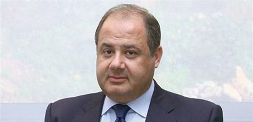 رئيس المجلس الاقتصادي والاجتماعي في لبنان شارل عربيد.