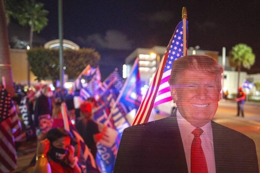 حملة ترامب تعلن فوزه في ولاية فلوريدا - إيه بي أيه