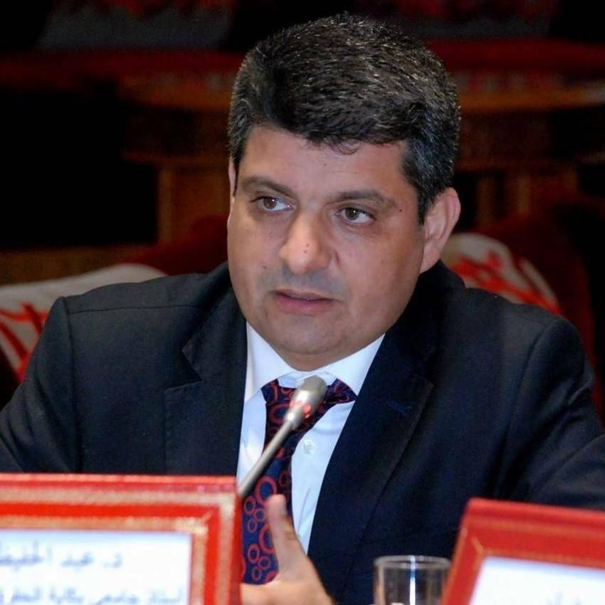أستاذ القانون بجامعة محمد الخامس بالرباط، عبد الحفيظ أدمينو.